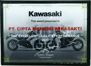 Kawasaki - The Excellent Quality Performance 2011
