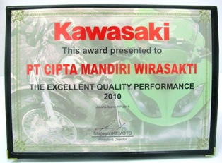 Kawasaki - The Excellent Quality Performance 2010
